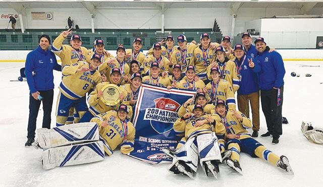 Santa Margarita High Wins Ice Hockey Championship!